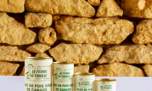 LA FERME DE TURNAC FOIE GRAS DORDOGNE Bloc CanardG.jpg 377