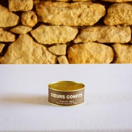LA FERME DE TURNAC FOIE GRAS DORDOGNE Coeurs Confit (1) 171