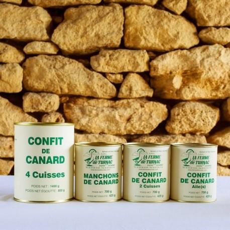 LA FERME DE TURNAC FOIE GRAS DORDOGNE Confit De Canard Manchons (1) 164
