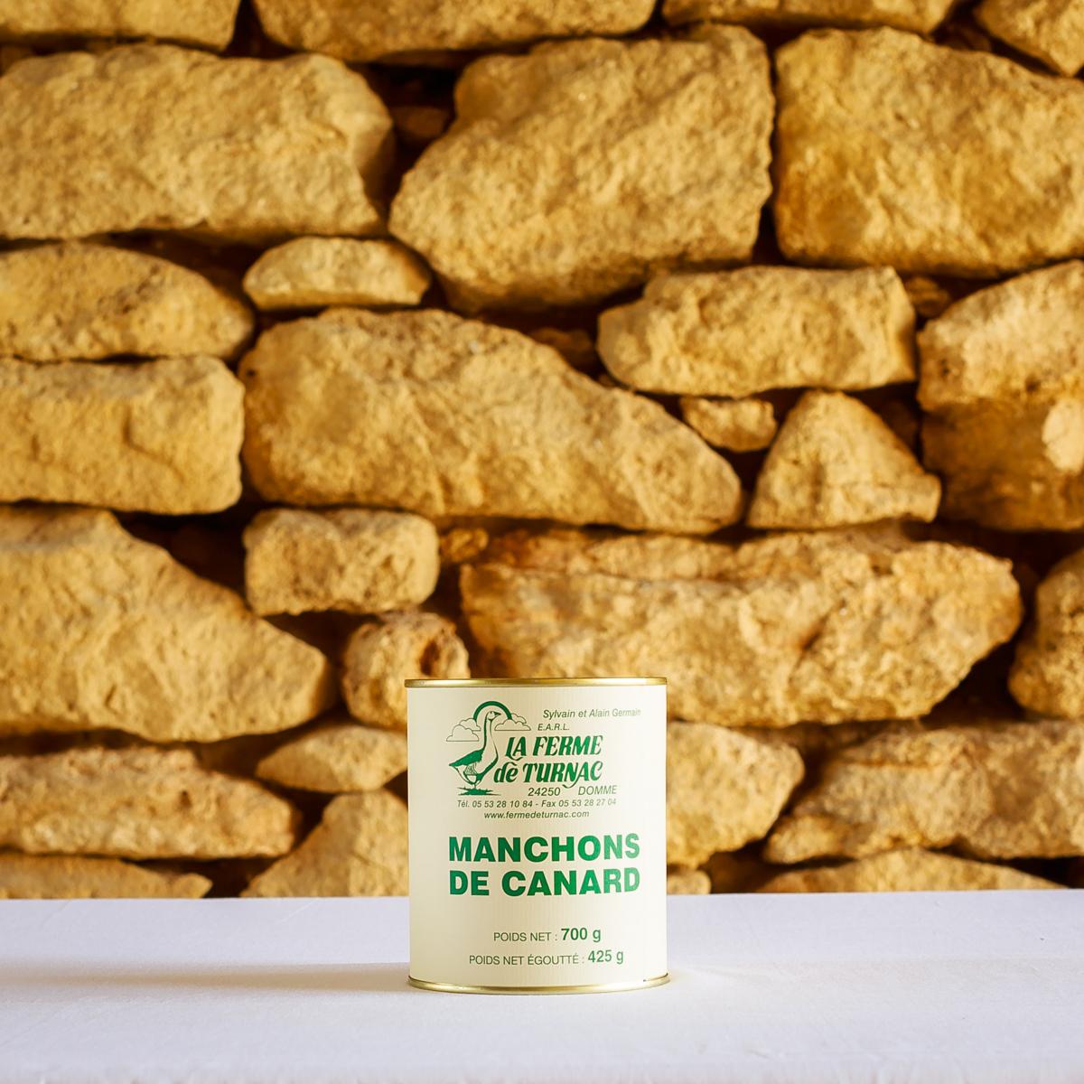 LA FERME DE TURNAC FOIE GRAS DORDOGNE Confit Manchons CanardG.jpg 375