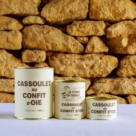LA FERME DE TURNAC FOIE GRAS DORDOGNE Cassoulet Au Confit D Oie (1) 180