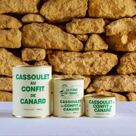 LA FERME DE TURNAC FOIE GRAS DORDOGNE Cassoulet Au Confit De Canard (1) 182