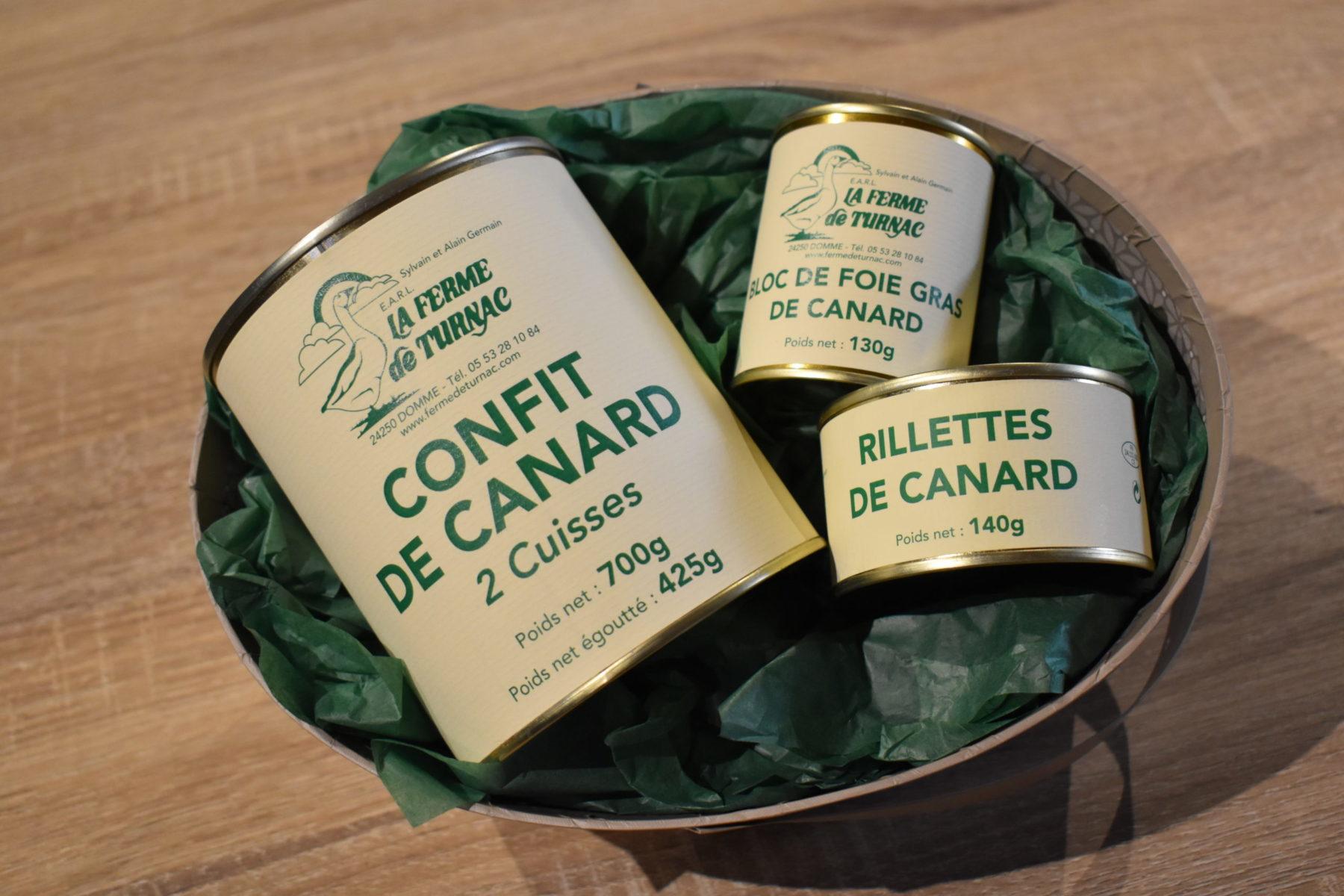 LA FERME DE TURNAC FOIE GRAS DORDOGNE Coffret Gourmandise.jpg 391