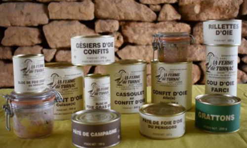 LA FERME DE TURNAC FOIE GRAS DORDOGNE Prod 710