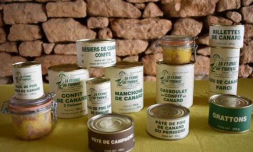 LA FERME DE TURNAC FOIE GRAS DORDOGNE Prod 711